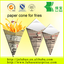 Mini Plus Size K-14 holds 5.5 oz paper cone for fries