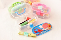 Complete Home Multifunctional Two Layer Sewing Kits Sewing Sets