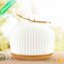 Fashion design aroma bluetooth music warm white color diffuser