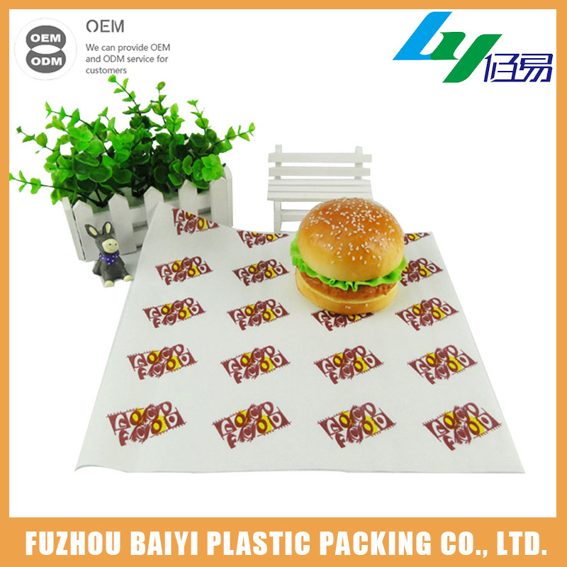 Manufacturer China Durable Custom Printed Wax Paper