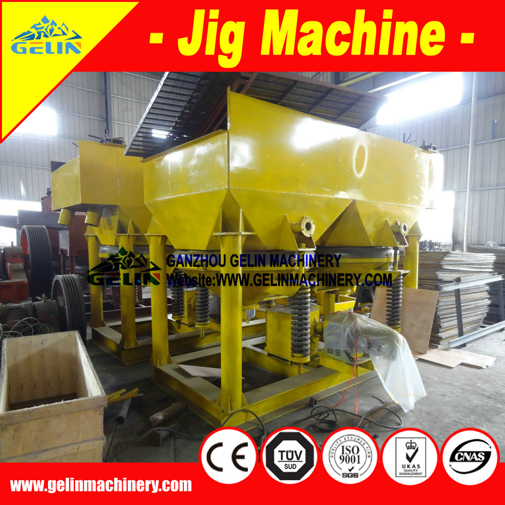 Metal dressing Jig machine for ore benefication