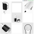 Amazon 2 in 1 Charger Car Accessory 12VLighter Socket Dual USB Car Charger