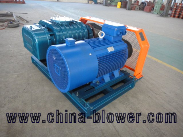 food & beverage plant sewage treatment blower
