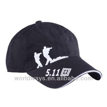 Mens 100 cotton black knitted brimless baseball cap pattern