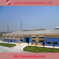 Prefab portable structural steel building