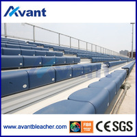 Anly aluminum bench seat for football stadium