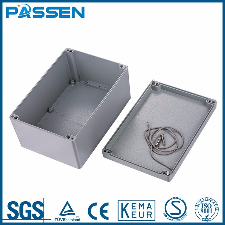 PASSEN competitive price Water-proof aluminum enclosure box