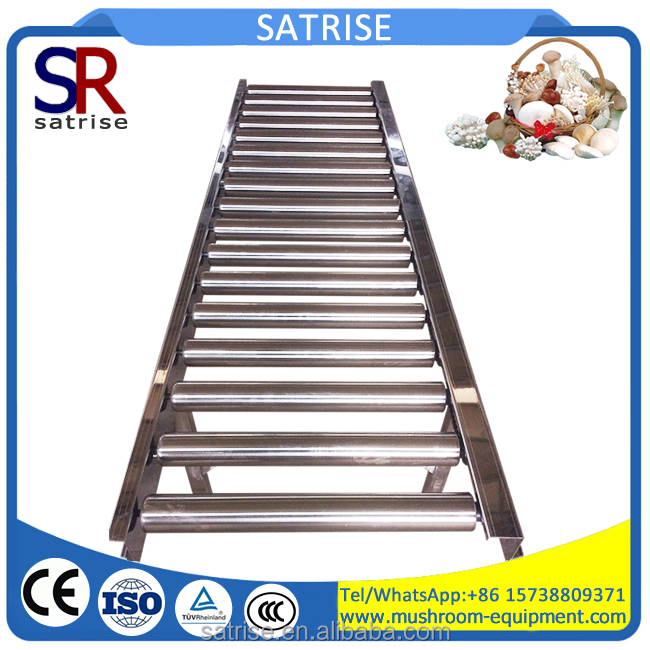 Good quality good price roller conveyor bags and trays roller conveyor