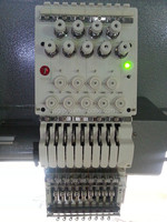 JS 24 head 1200 RPM Computerzied Flat Embroidery Machine