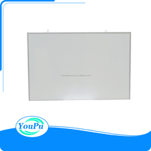 Stationary office supply single side magnetic aluminum frame whiteboard