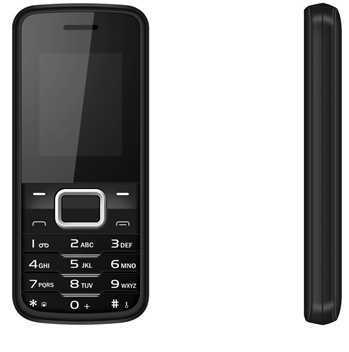 "Low End Feature Cell Phone D500 Spreadtrum Quad Band GPRS 1.77"" TFT Screen Bluetooth Dual Sim Made in China"
