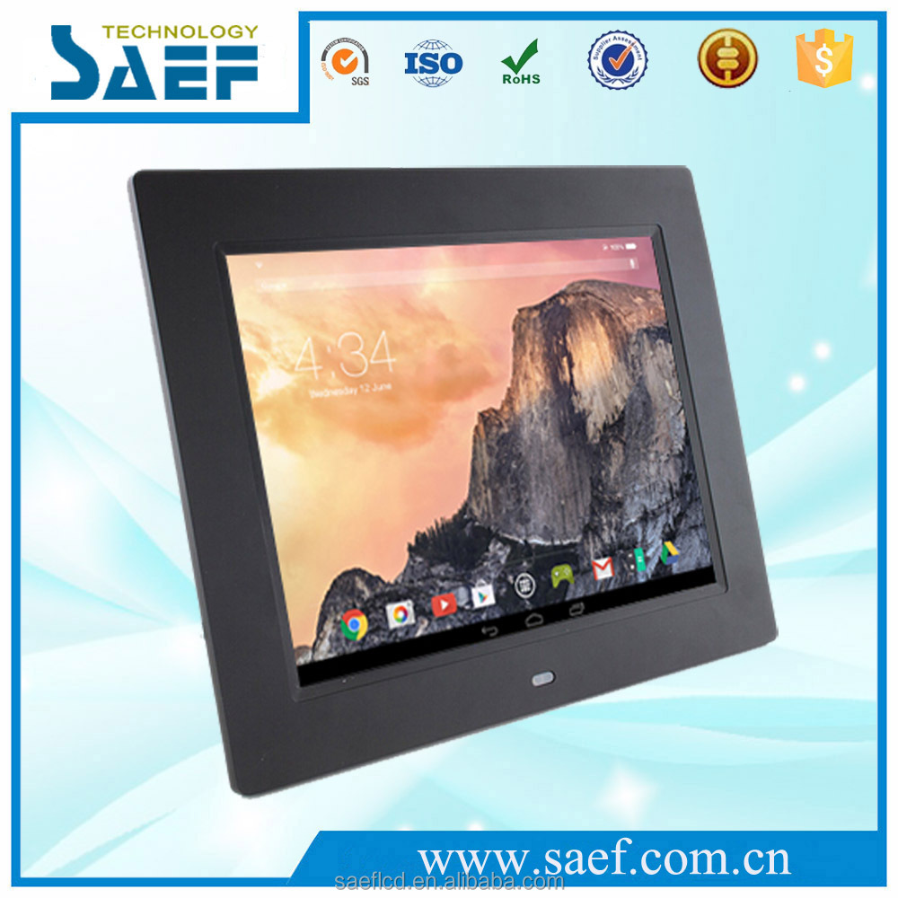 "9.7"" android 4.4 tablet pc lcd advertising screen with vesa mounting"