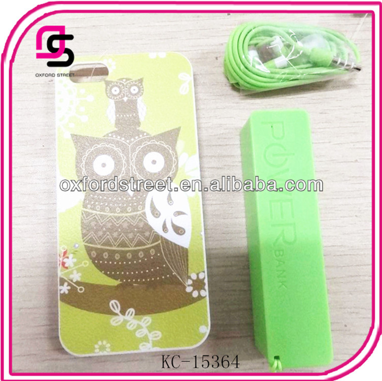 Plastic phone case set for 2014 with animal design