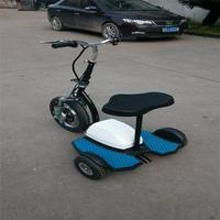three wheel electric scooter 350W36V withe reverse gear