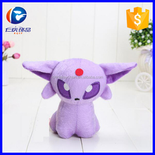 Hot Game Pokemon Plush Toy Espeon Doll Collectible Soft Stuffed <strong>Animal</strong>