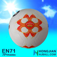 2015 cheap soccer balls NO.5 inflatable soccer ball