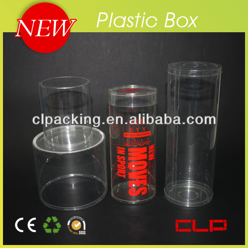New high quality clear round acetate boxes 1