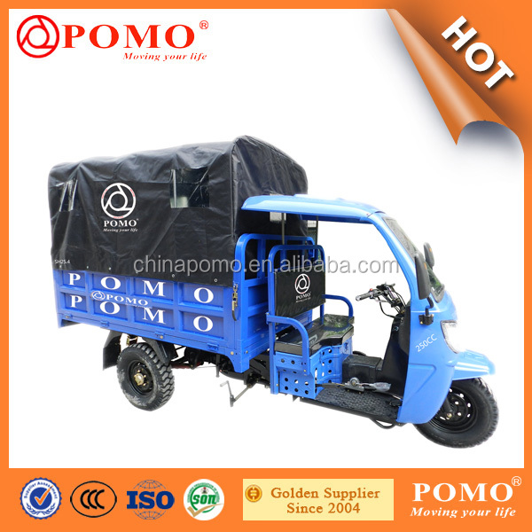 Best Sale Electric Tricycle China Produced Rear Axles Tricycles 250Cc Water Cooled Engine Sanitation Tricycle