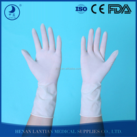 Factory surgical gloves sterile latex powder free latex rubber surgical glove