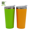 Unique 16oz Travel Camping Custom Double Wall Insulated Drinking Tumbler