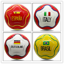 Professional Manufacture PU Soccer Balls Flag Football Forming Soccer balls
