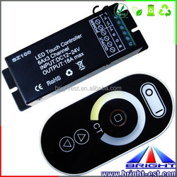DC 12V-24V 6A Touch Panel LED Dimmer for Single Color LED Strip Light