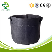 2 Gallon Gardening Grow Bags Container with Strap handles, Aeration Plant Hydroponic Pot/Fabric Grow Pot