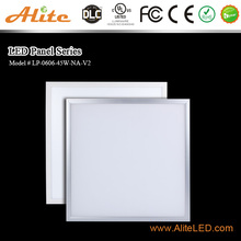 DLC premium 130lm/w 600x600 led panel light