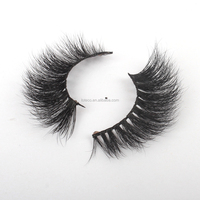 Alibaba Best Selling 3D Mink False Eyelashes Strip Eye Lashes for makeup