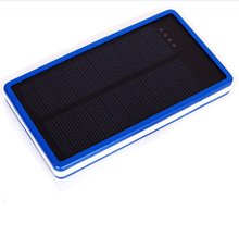 Watefrproof Solar Power Bank 10000mAh Most Durable Solar Mobile Phone Charger Solar Charger with solar panel