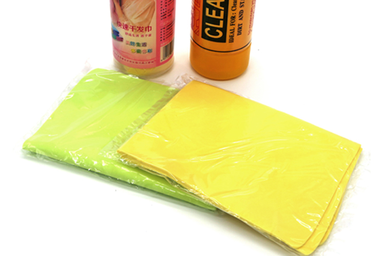 Made in China many colors pva ice cool sports shammy towel