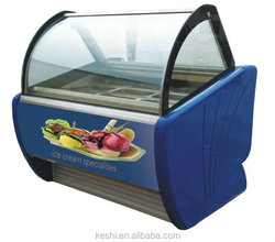Low power consumption product display case with 380V 50hz 3Ph electric