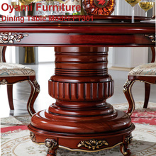 Royal heated elegant modern dining table set