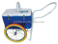 2016 hot sale street mobile popsicle ice cream push cart for sale(ZQP04)