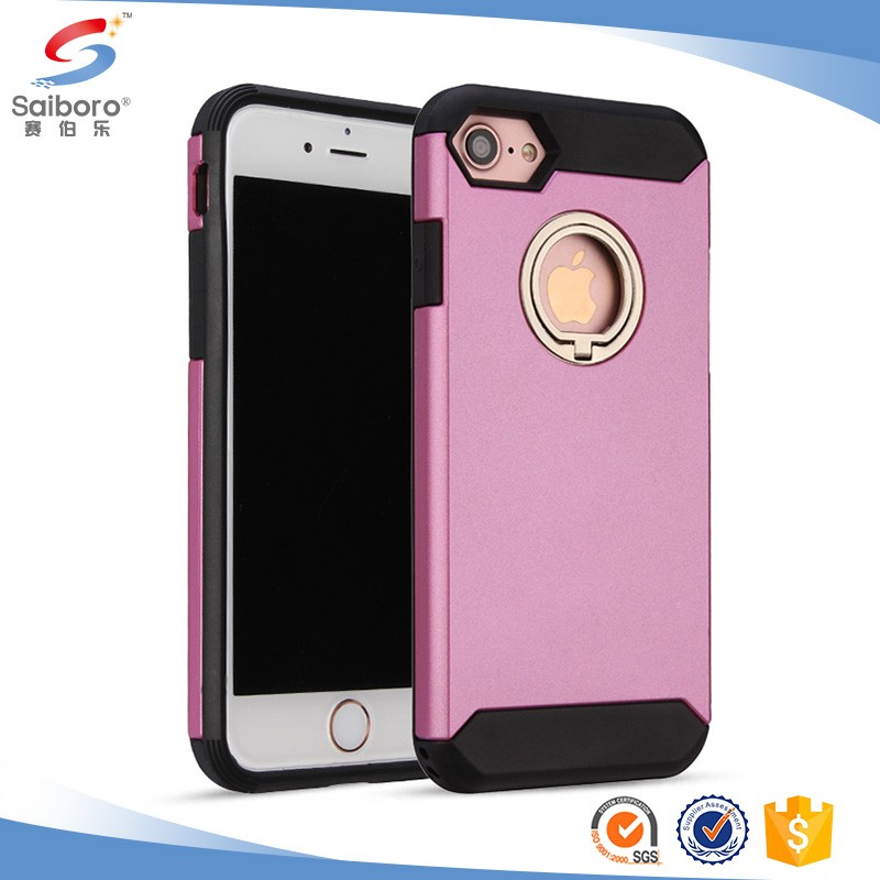 Wholesale OEM mobile phone finger ring case for iphone 6s case
