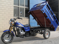 Latest advertising products goods delivery tricycle van cargo tricycle