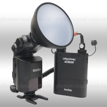 Godox Witstro AD360II-C TTL Powerful Speedlite Flash + PB960 Lithium Battery