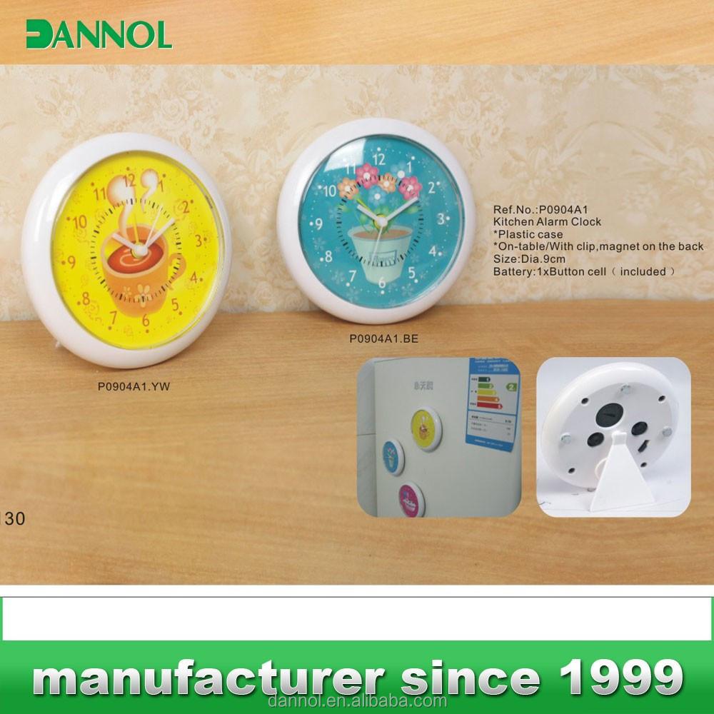 Dannol aimant horloge r veil cuisine salle de bain for Reveil de salle de bain