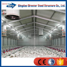 Made In China Light Steel Low Price Broiler Chicken Farm