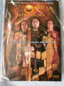 """Alborada La Trilogia Inca"" Double Dvd Sealed Peru"