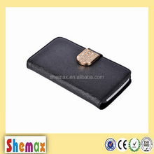 Wholesale diamond flip wallet case for samsung galaxy win i8552