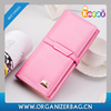 Encai Ladies Buckle Clutch Bag Elegant Women's Purse Stylish Bright PU Wallet