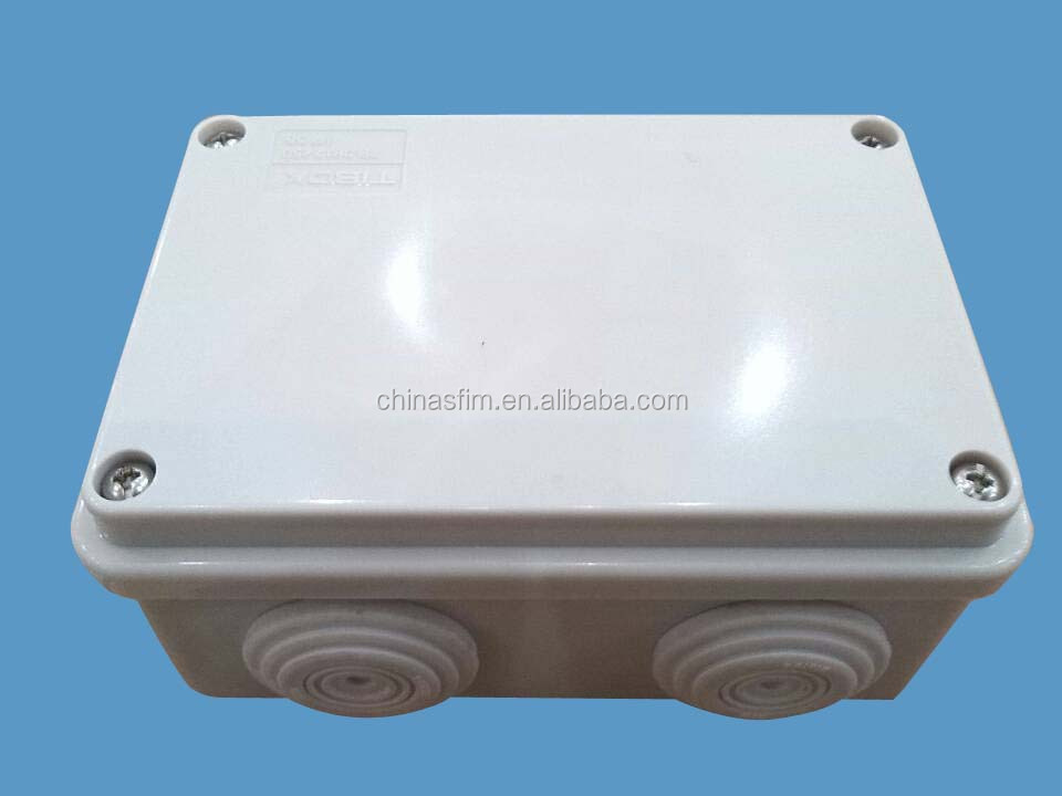 2015 New Electric surface mount plastic electrical boxes/Enclosure TIBOX brand