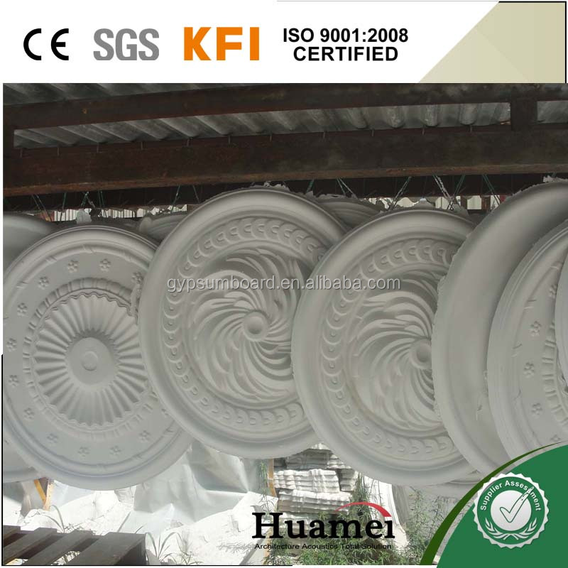 Plaster light moulding decoration for gypsum ceiling cornice
