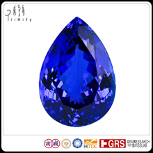 Natural Loose Tanzanite Gemstone 32.4 CT Pear Cut at Wholesale Prices Fine Jewelry