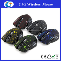 2.4ghz 6d wireless gaming optical mouse computer peripherals