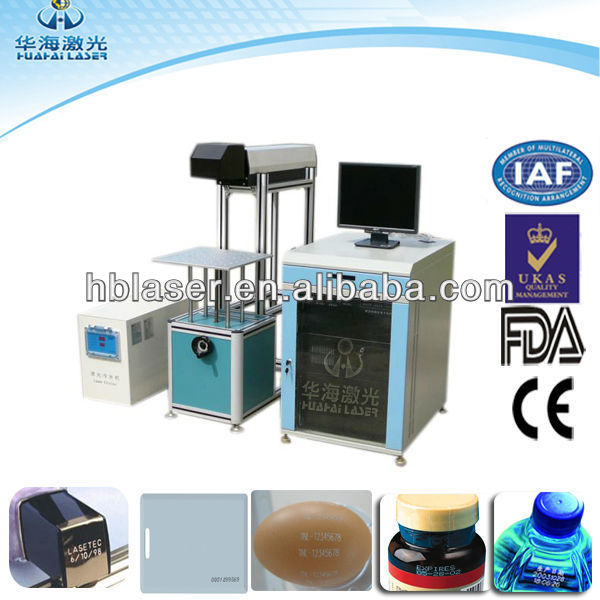 Hot Factory Price 30W CO2 ceramic tile laser engraving cutting machine for all plastic, rubber, leather