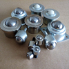 small ball transfer unit solid house plastic or metal roller ball caster wheel with bolt fixing transfer bearing