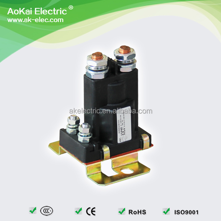 ANR80A 12VDC 80A For Traction Motor / Winch Motor / Hydraulic Power Pack 1NO AOKAI 80 Amp Contactor
