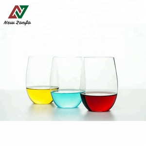 16oz Mugs Plastic Stemless Disposable Wine Glass Tritan Dishwashing Safe